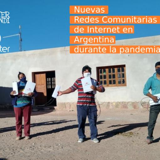 Nuevas redes comunitarias Argentina