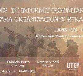 Conversatorio de Redes de Internet Comunitarias para Organizaciones Rurales